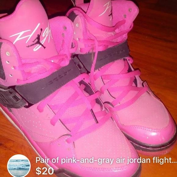 Pink Flight Air Jordans | Poshmark